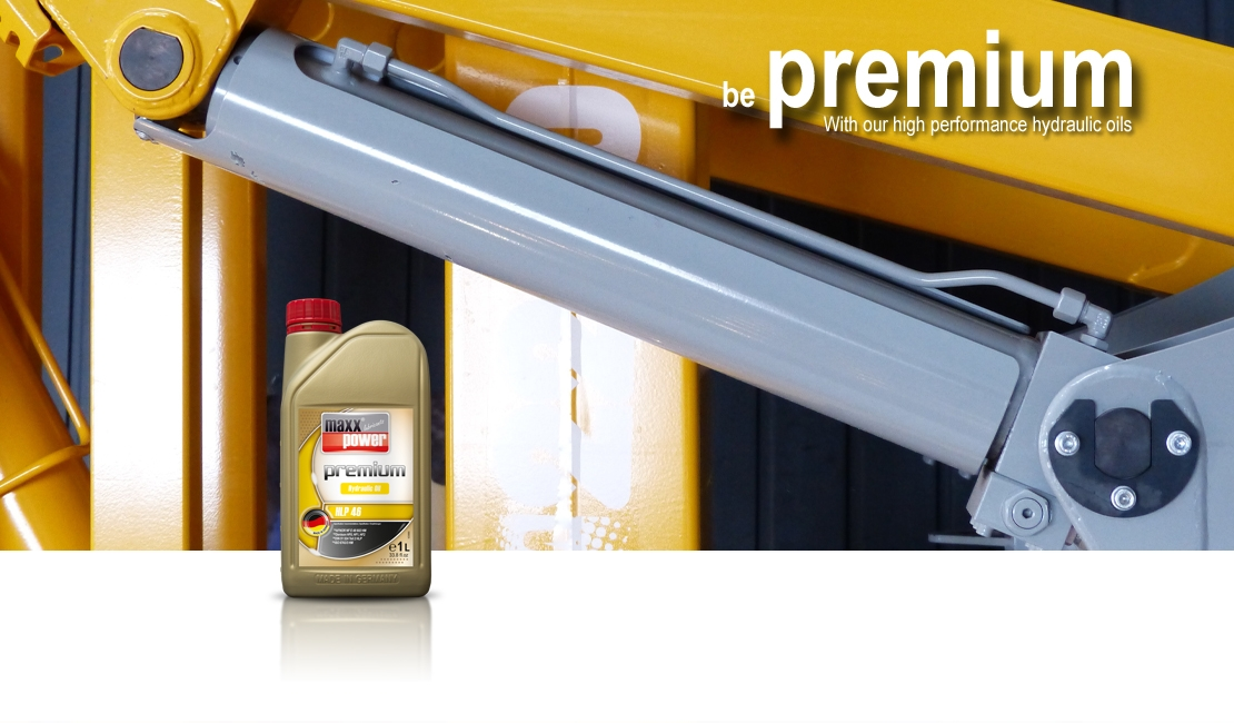 be premium with Hydraulic oils