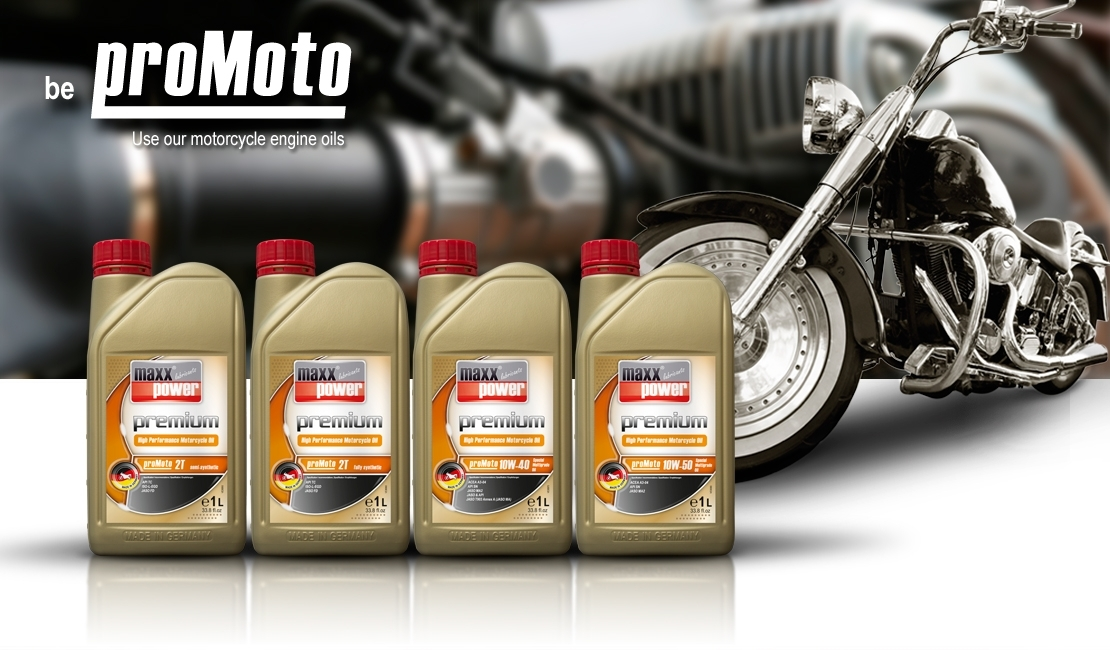 proMoto Motorcycle Engine Oil